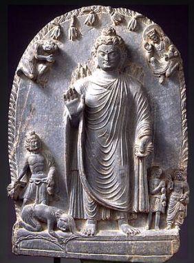 Buddha gandhara 3 to 5 bce