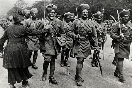 Indian oldirs in Paris WW2