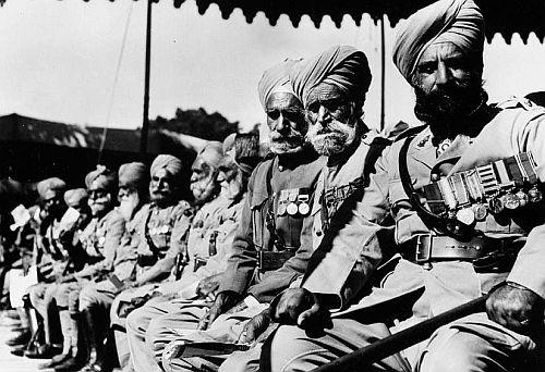 Indian oldirs in WW2