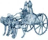 Mitanni Chariot with spokes