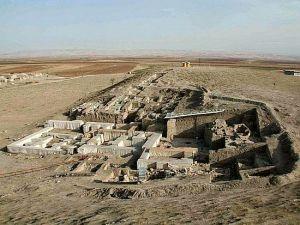 Ruins of Mittani palace