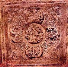 Badami ceiling motiff