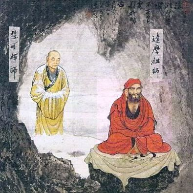 Bodhidharma in China
