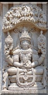 Buddha as Vishnu at Chennakesava Temple (Somanathapura)