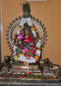 Dakshina murthi as Ardhanarishvara
