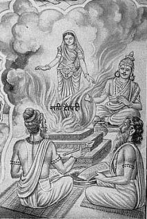 Draupadi -birth