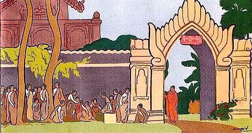 early Buddhist wpmen 1