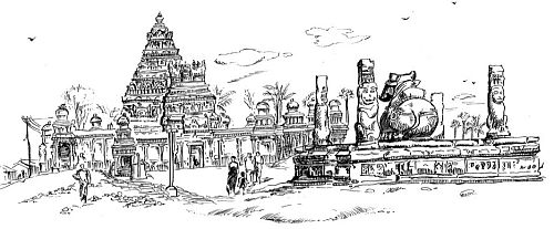 kailasanatha-temple drawing-