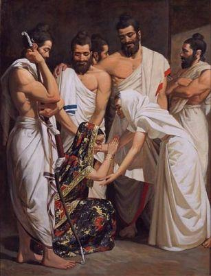 Kunti Draupadi by Giampaolo Tomassetti