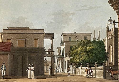 Madras St. Thome Street, Fort St. George, Madras - 1804