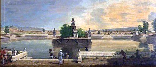 Madurai 2 Teppakulam 1772-3 by Fransis Ward