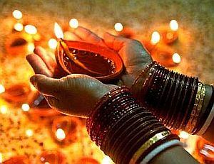 offering Diya