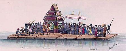 processionon water
