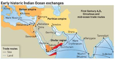 Ancient Trade Between India And Rome Sreenivasaraos Blogs - Map of egypt greece and rome