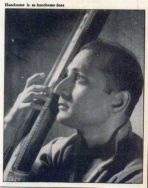 S Rajam as young man