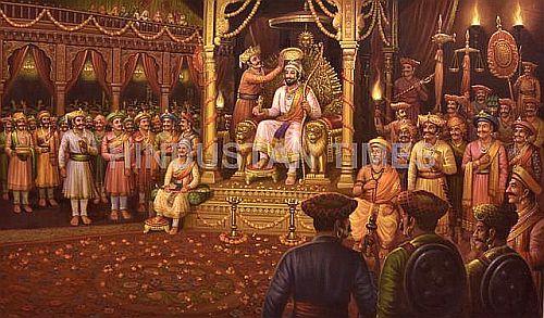 Shivaji Coronation