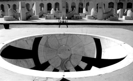 Sundial-at-Jantar-Mantar-in-Jaipur