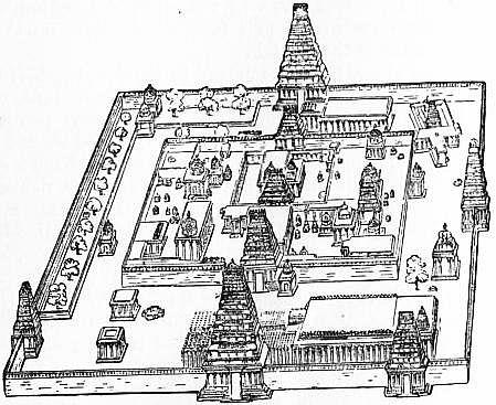 Temple at Tiruvallur, near Tanjore