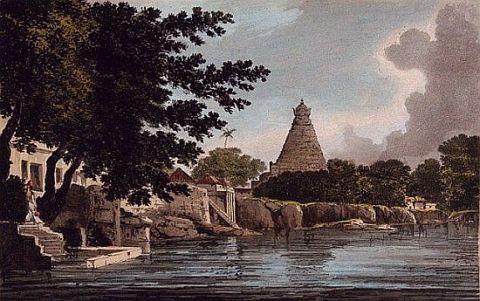 Thanjavur pagoda