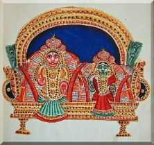 Thyagarajasvami and his consort Nilotpalamba