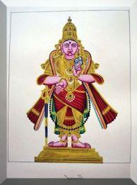 Vasudeva Perumal stands in samabhanga