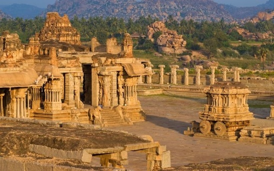 Vijayanagara, earliest example of imperial city