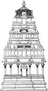 Vimana from Manasara