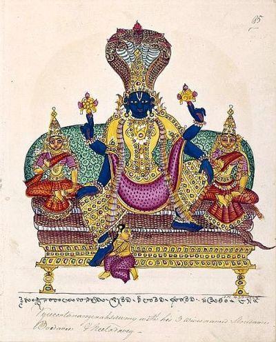 Vishnu as Vaikuntha-natha