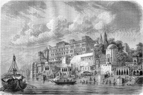 An engraving from 'Le Tour du Monde', 1861