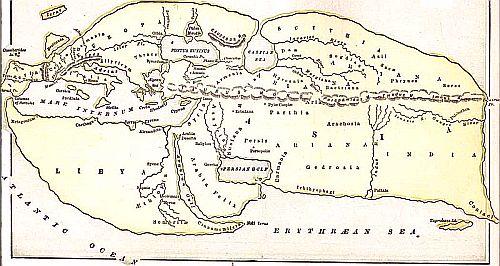 Ancient Ariana lands
