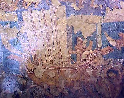 ancient Indian ship