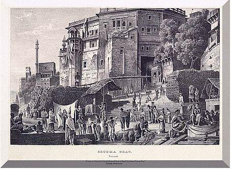 Benares Brahma Ghat 1832