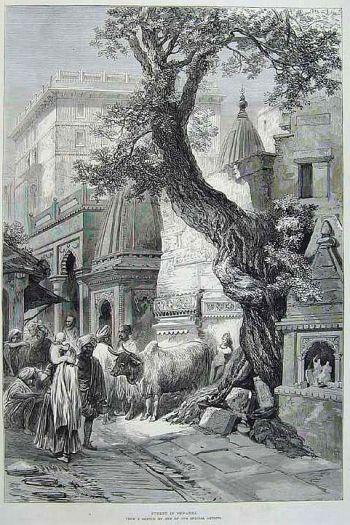 Benares street scene