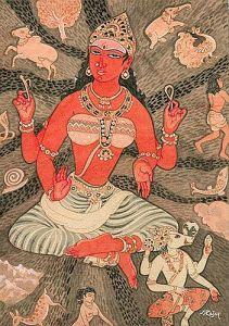 Bhuvaneshwari - Mahavidya