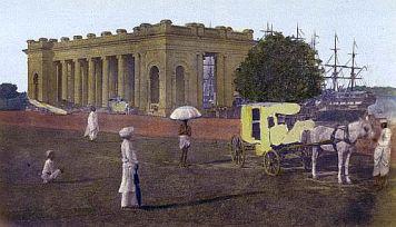 Calcutta Princep's Ghaut, Calcutta - 1851