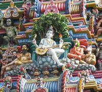 Dakshinamurti veena  Kapaleeshwarar_Gopurum