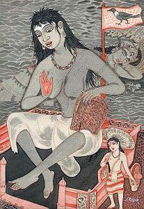 Dhumavati - Mahavidhya