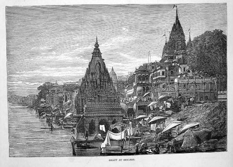 Ghat at Benares