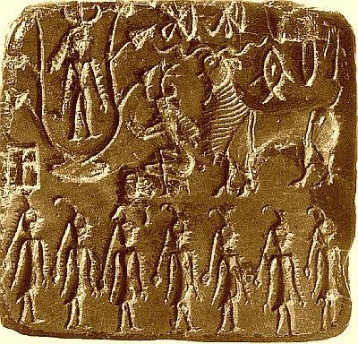 Mohenjo-Daro seal