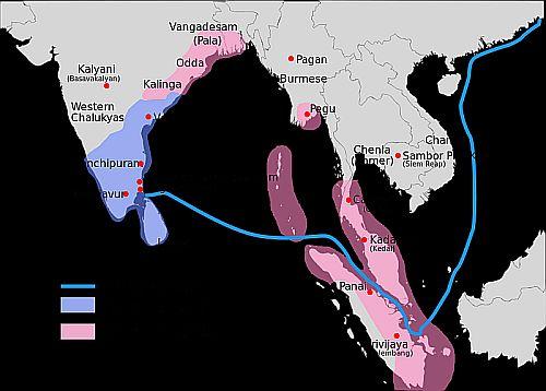 Pandya desha to Fareast sea route