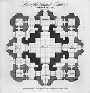 Plan_Of_The_Ancient_Temple_Of_Vishveshvur_by_James_Prinsep_1832
