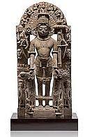 two armed Vishnu