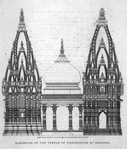 varanasi visvesvara temple elevation