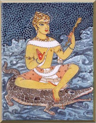 Varuna by S Rajam