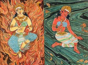 Agni and Varuna