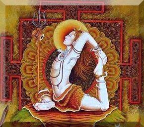 Shiva as Hata Yogi