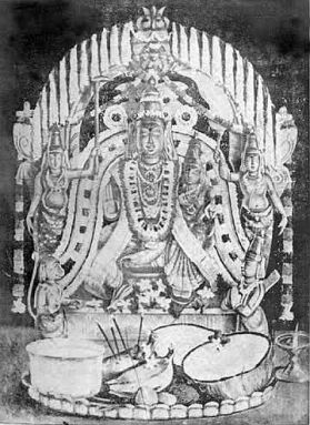 Rama Icon worshipped by Sri Tygaraja