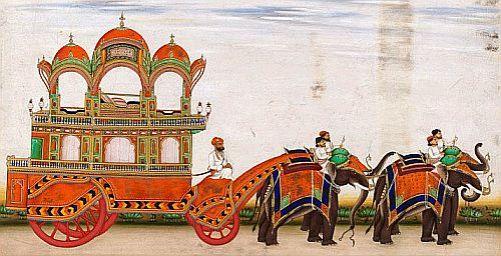elepphant carriage