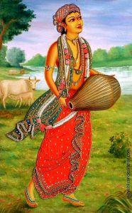 Gandharva depivtion in art