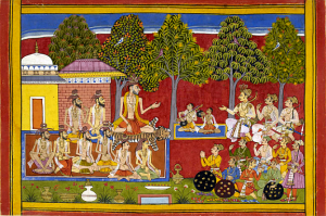 Ramayana recitation